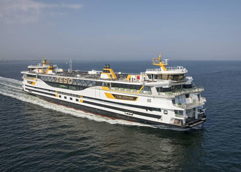 Ferry Texelstroom do TESO. Imagem cedida por C-Job