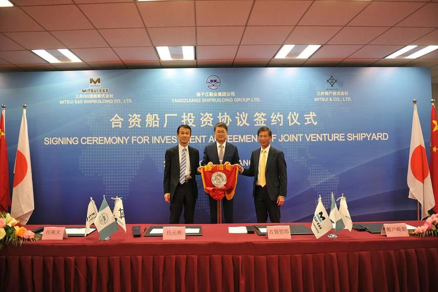 Foto: Mitsui E&S Holdings Co., Ltd. / Yangzijiang Shipbuilding