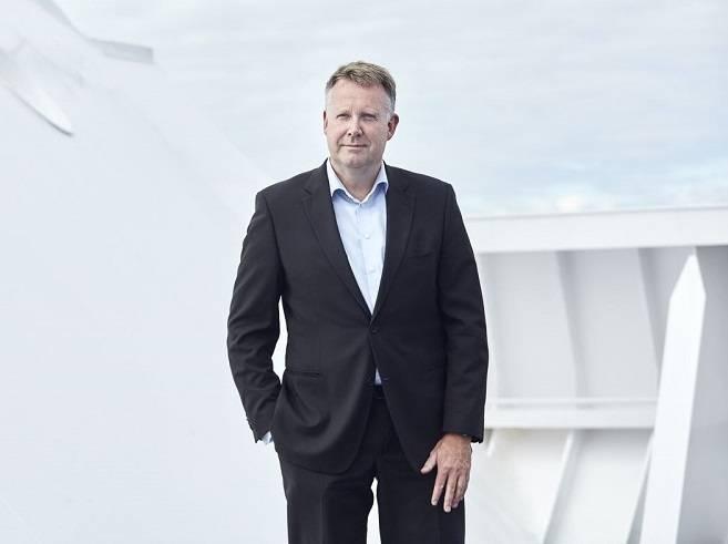 Henrik Holck (Φωτογραφία: DFDS)