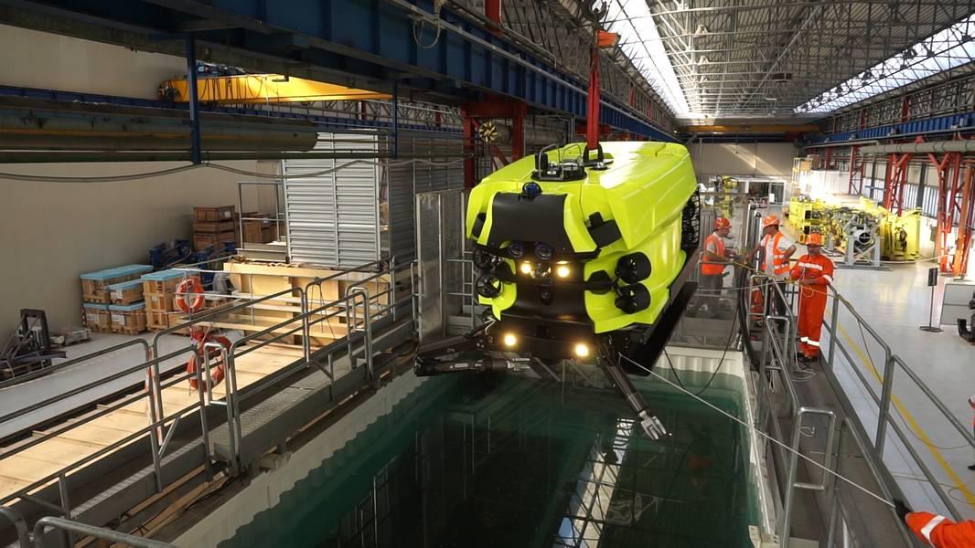 Hydrone R της Saipem - στη σάρκα και έτοιμη για δοκιμές σε πραγματικό κόσμο. Εικόνα από το Saipem.