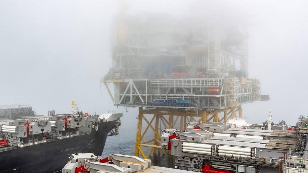 Johan Sverdrup油田的钻井平台位于22,000吨的顶部。 (照片:Bo B. Randulff / Equinor ASA)