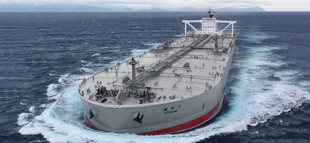 """ K""线拥有17艘油轮,船队中包括250万载重吨。照片:"" K""线"