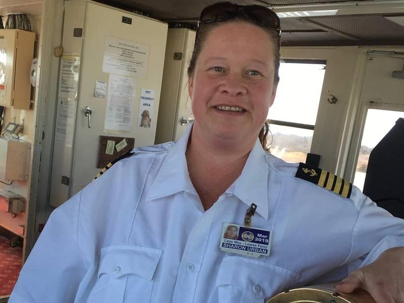 Kapitän Sharon Urban