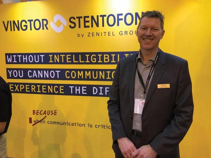 Kenneth Dastol, director general y presidente de Zenitel Group. Foto: Greg Trauthwein