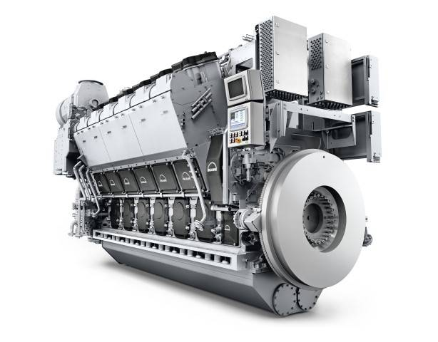 MAN 32 / 44CR Motor (Bild: MAN Energy Solutions)