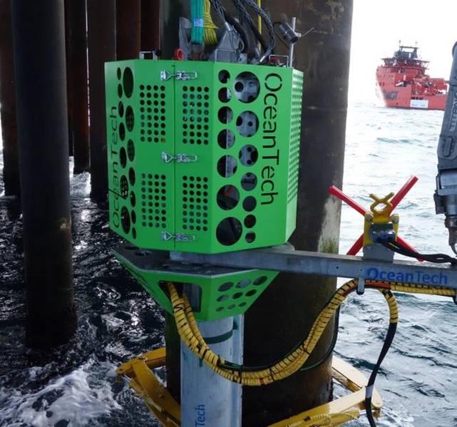 Novas ferramentas: um módulo submarino de inspeção, limpeza e reparo. Crédito: OceanTech
