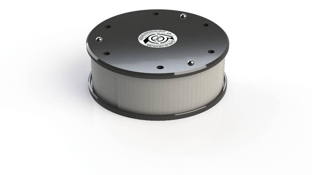 Penn-Troy Manufacturing's neues BICERA Sigma-Kurbelgehäuse-Explosionsschutzventil.