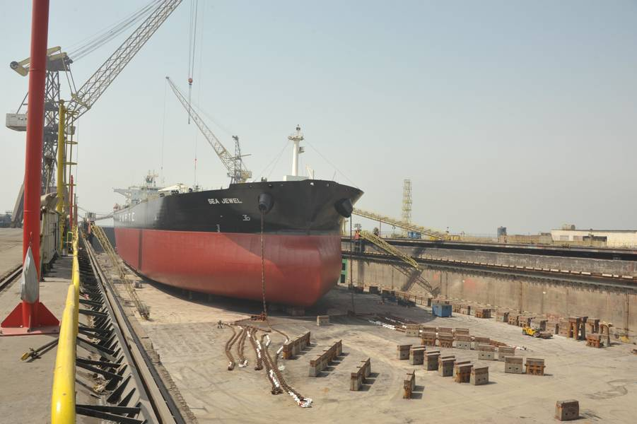 Sea Jewel, первое судно AMPTC, получившее модернизацию BWTS от ASRY (Фото: ASRY)