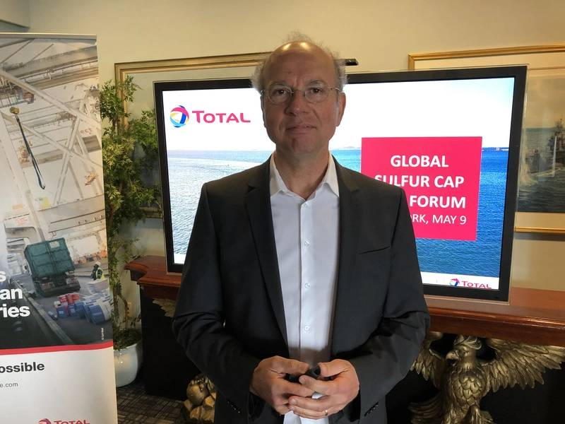 Serge Dal Farra, Global Marketing Manager von Total Lubmarine. Foto: Greg Trauthwein