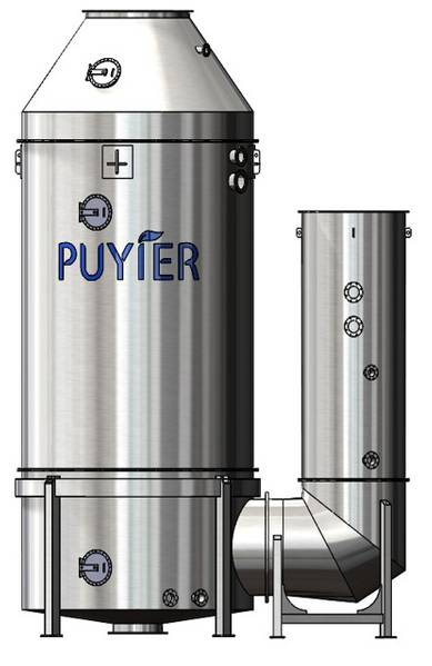 Puyierは、IタイプとUタイプの両方でオープン、クローズド、ハイブリッドのスクラバーシステムを製造しています。それは70以上の参照と注文で100単位を持っています(Image:Newport Shipping Group)