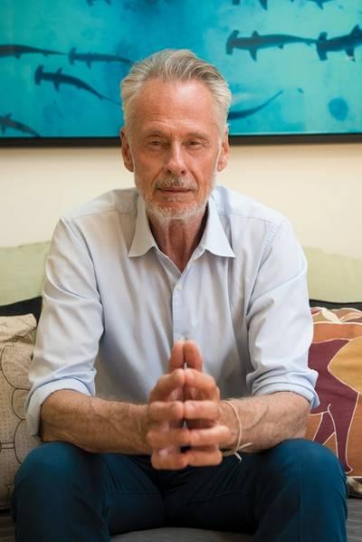 """Ο Sven Lindblad, πρόεδρος και διευθύνων σύμβουλος της Lindblad, θα παρουσιαστεί στο περιοδικό """"Cruise"""" του Maritime Reporter & Engineering News. Φωτογραφία: Expeditions Lindblad."""