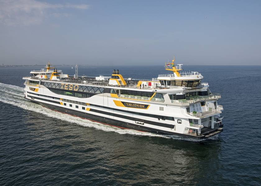 TESO的渡轮Texelstroom。图片由C-Job提供