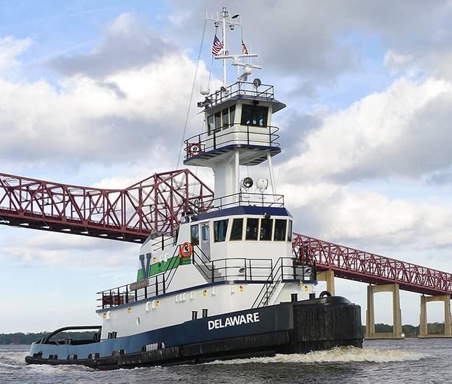 Το Vane Delaware, ένα από τα πολλά έργα κατασκευής νέων κατασκευών του St. Johns Shipbuilding που πραγματοποιήθηκαν για τον Vane.