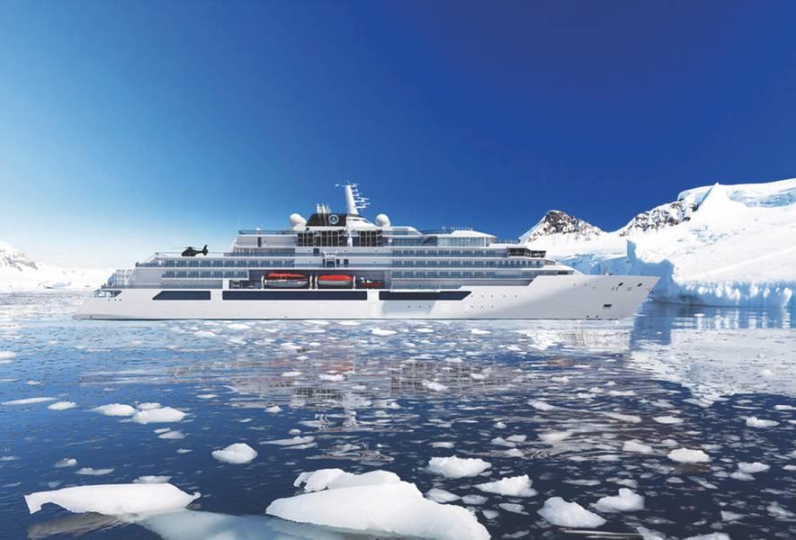 MV WerftenはCrystal Endeavorの生産から始まります。 (写真提供:MV Werften)