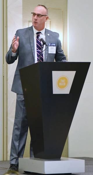 William P. Doyle, CEO e Diretor Executivo da Dredging Contractors of America