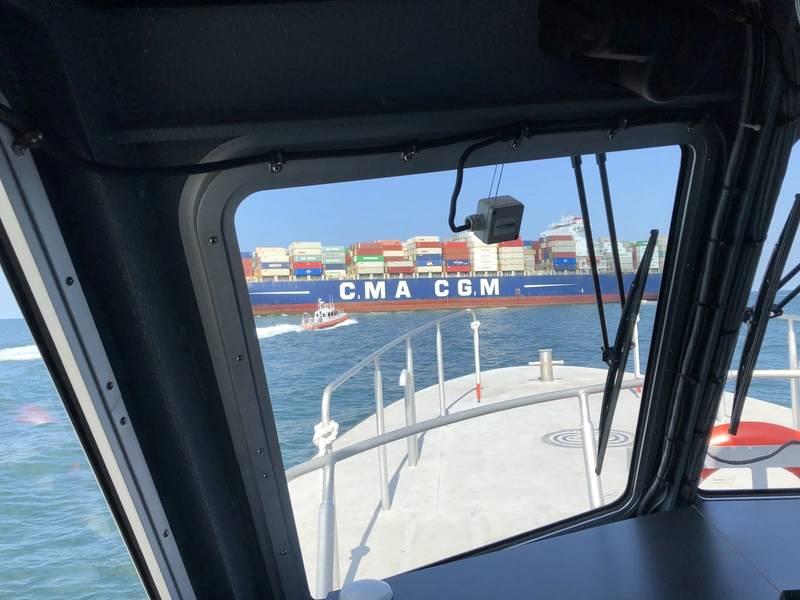 A bordo de Hampton Roads (Foto: Eric Haun)