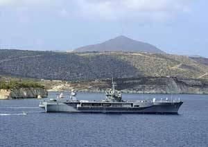 O navio destroeiro RALamander 2000 irá manter os bombeiros marinhos a uma distância segura. (Foto cedida por Kongsberg Maritime)