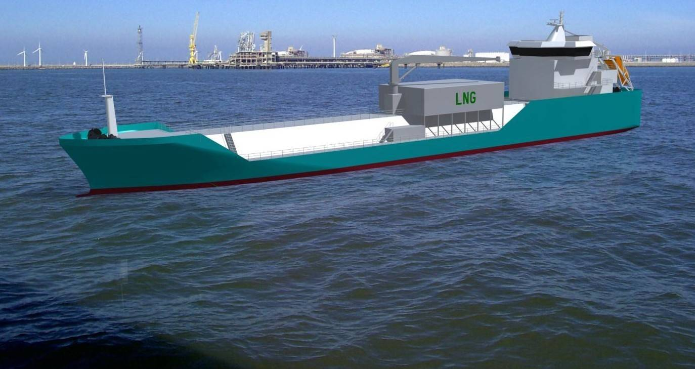 bureau veritas to class first lng bunker barge. Black Bedroom Furniture Sets. Home Design Ideas