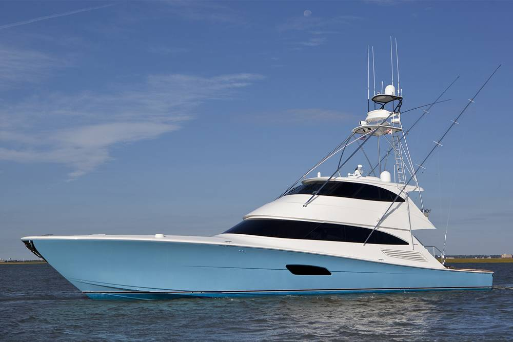 Mes viking yachts partner for quiet for Viking fishing boats