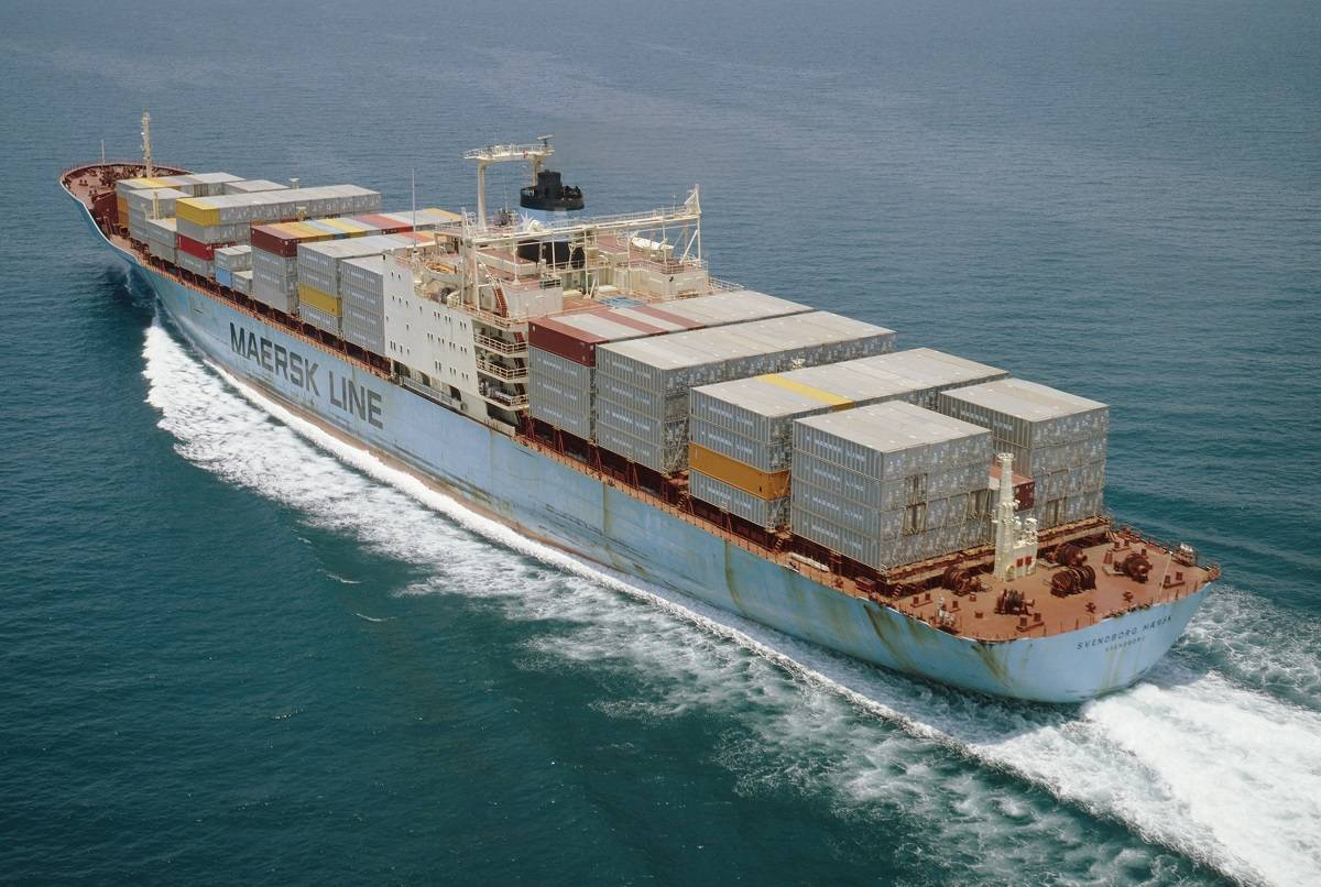 Ship Loses Containers In Rough Seas
