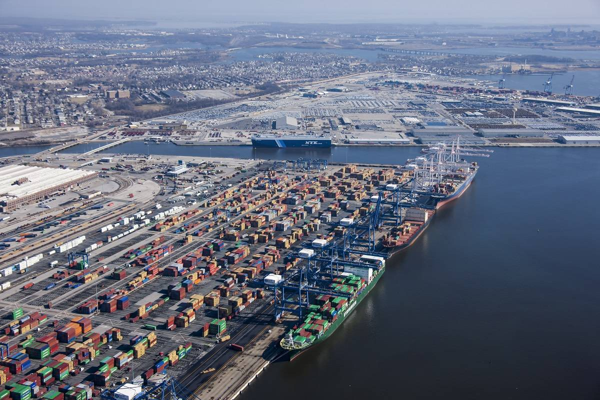 port operations Ports are places where there are facilities for berthing or anchoring ships and  where there is cargo handling equipment to process cargoes from ships to shore, .