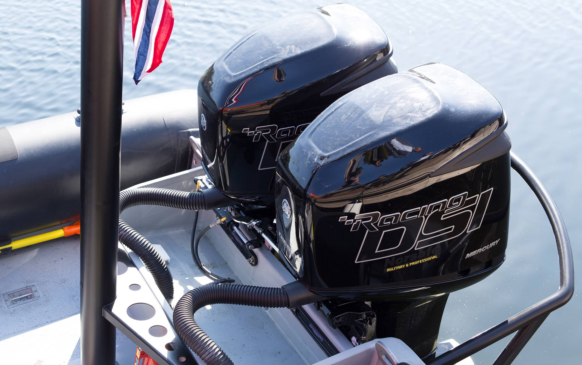 New Norsafe Boat With Diesel Outboards Debuts