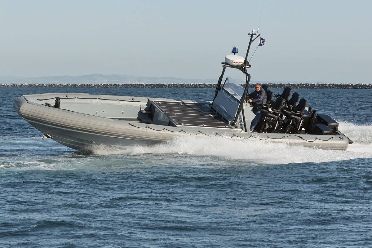Willard To Build Ukrainian Navy Patrol Boats