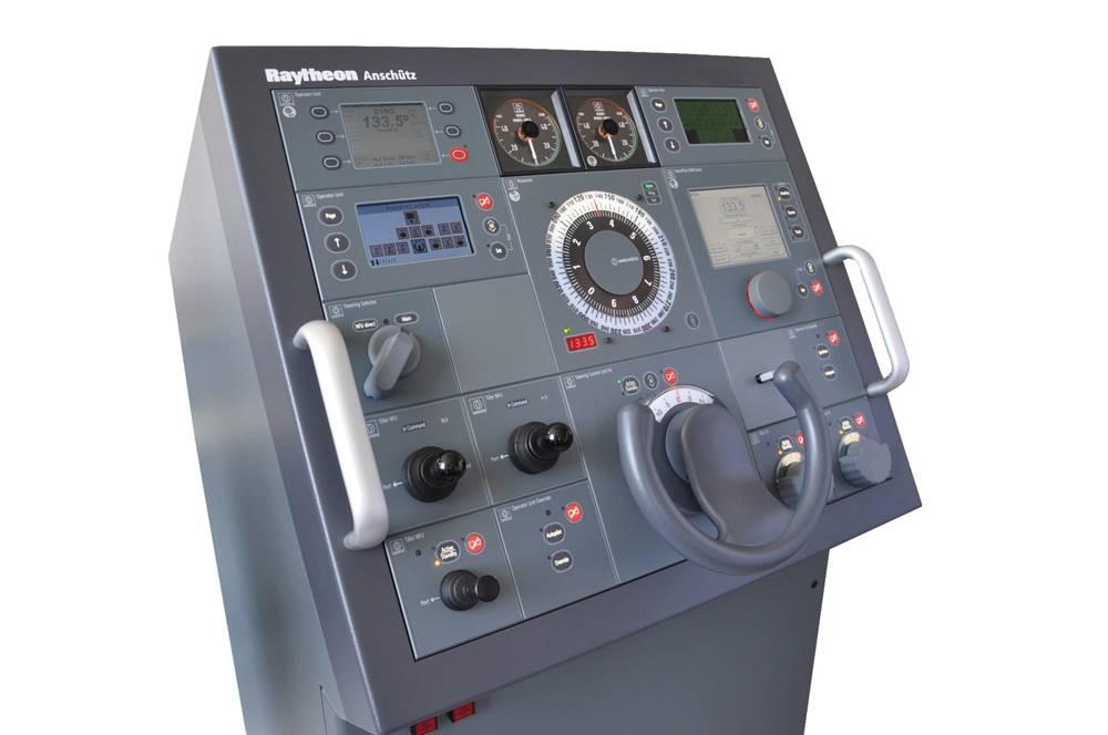 Raytheon anschütz steering gear control for carnival