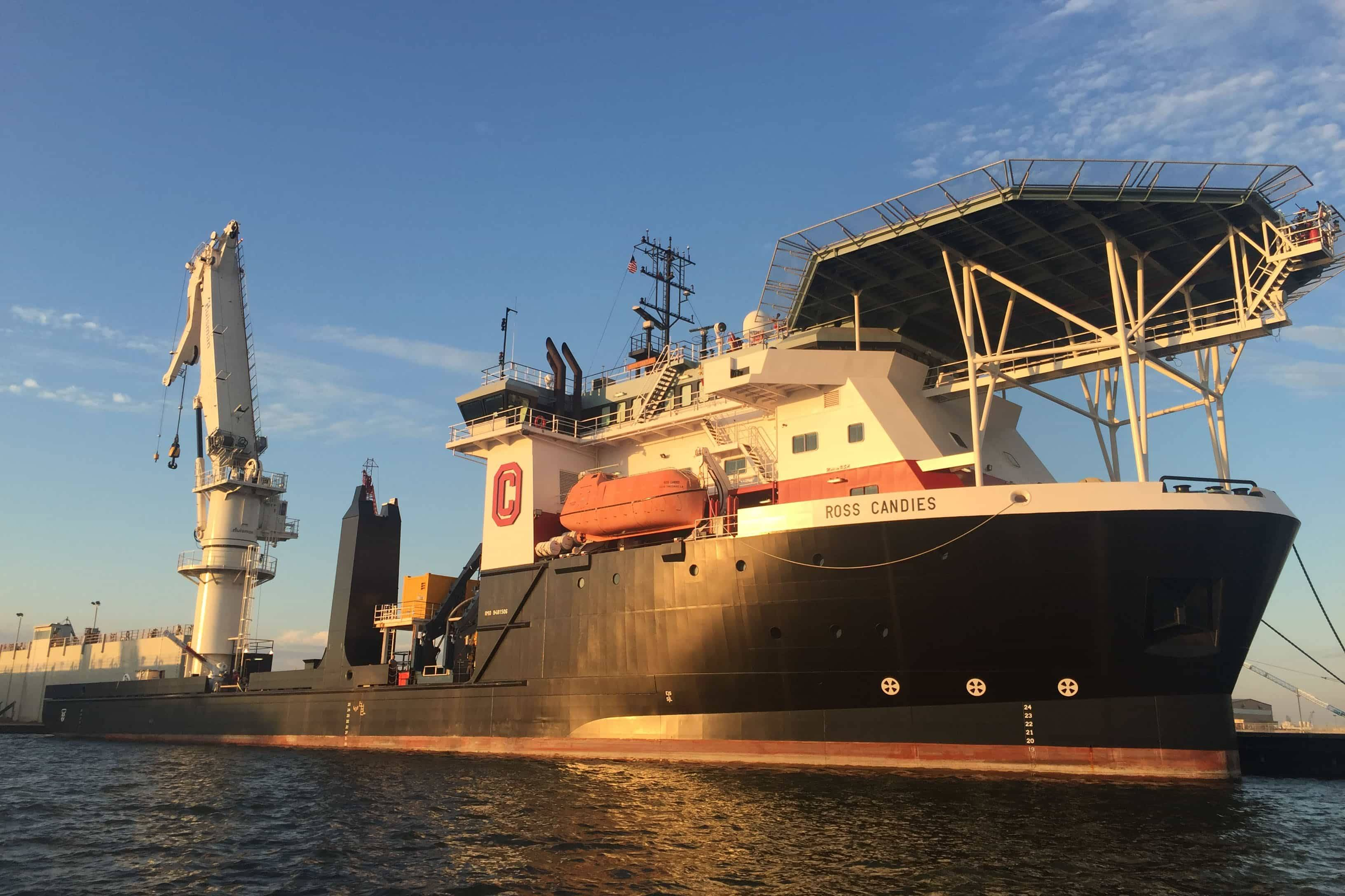 Canyon Charters Otto Candies Vessel