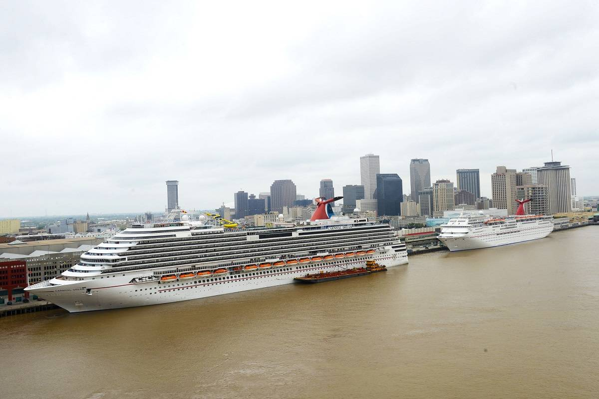 Carnival Extends Deal With Port Of New Orleans