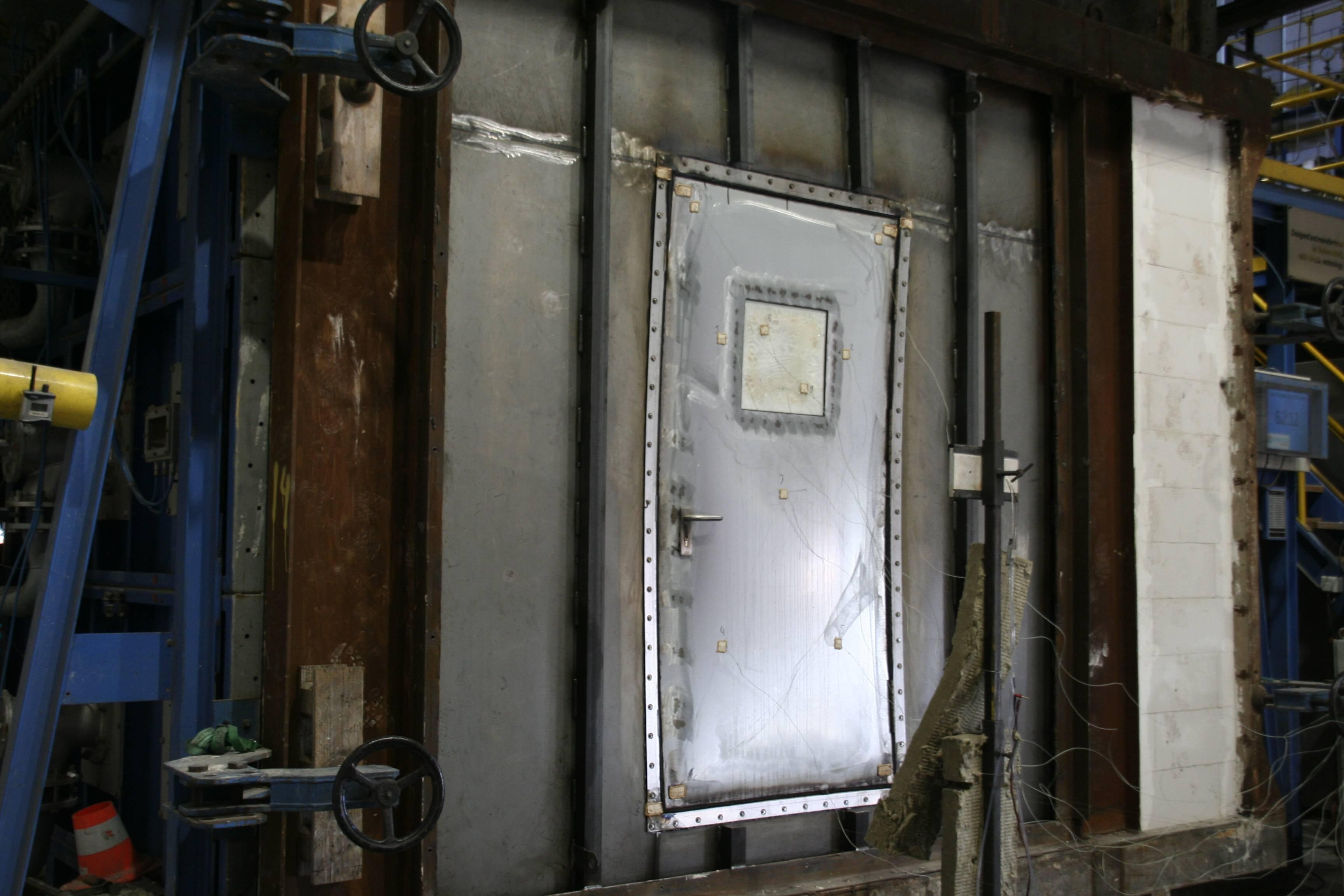 Fire Safety Doors : Interdam conducts door safety test