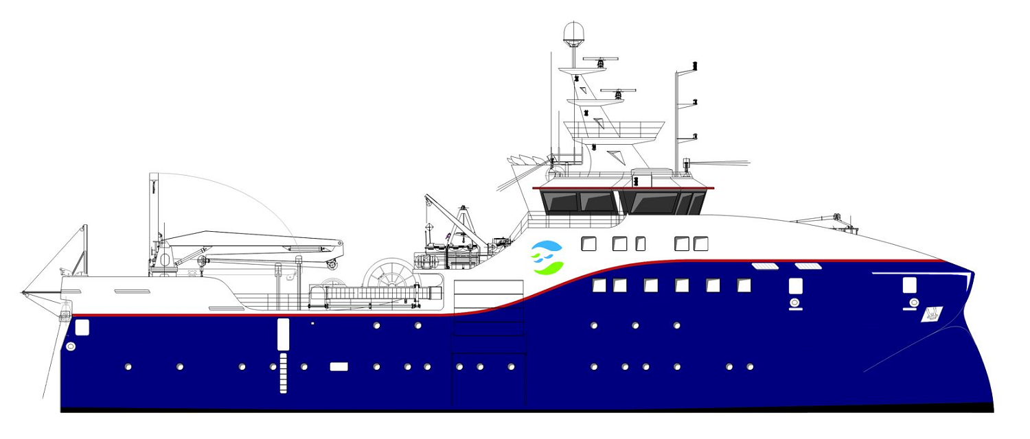 Ultra Silent Propulsion For New Research Vessel