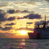 Coast Guard Cutter Northland patrols the Eastern Pacific during an 81-day mission spanning December 2017-February 2018. During the patrol, the crew interdicted five smuggling vessels, detained 16 suspected traffickers and seized a combined 7,564 kilograms of cocaine. (U.S. Coast Guard photo by Lt.j.g. Samuel N. Williams/Released)