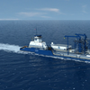 File Image: A Depiction of Harvey Gulf's Q-LNG ATB bunkering vessel. When built, this vessel, partnering with Shell, will provide LNG to a raft of new LNG / Dual Fuel Cruise ships currently being built. CREDIT: Harvey Gulf