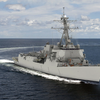 "HII's Ingalls Shipbuilding division will build Jack H. Lucas (DDG 125), the first ""Flight III"" ship in the U.S. Navy's Arleigh Burke class of destroyers. (HII rendering)"