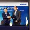 Intellian and HGS sign partnership (Photo: Hyundai Global Service)