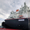 "Next-Generation LNG Carrier ""NOHSHU MARU"" (Photo: MHI)"
