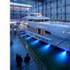 New Fast Displacement Yacht is First with Hybrid Propulsion