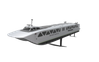 A foil ferry designed to use battery electric propulsion (Image: Glosten)