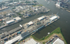 Aerial view of the Süd-West-Terminal (SWT) in the Port of Hamburg (Photo: OPDR)