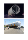 LSPL moved 20 Columns & Rectors for Reliance's Expansion project at Jamnagar