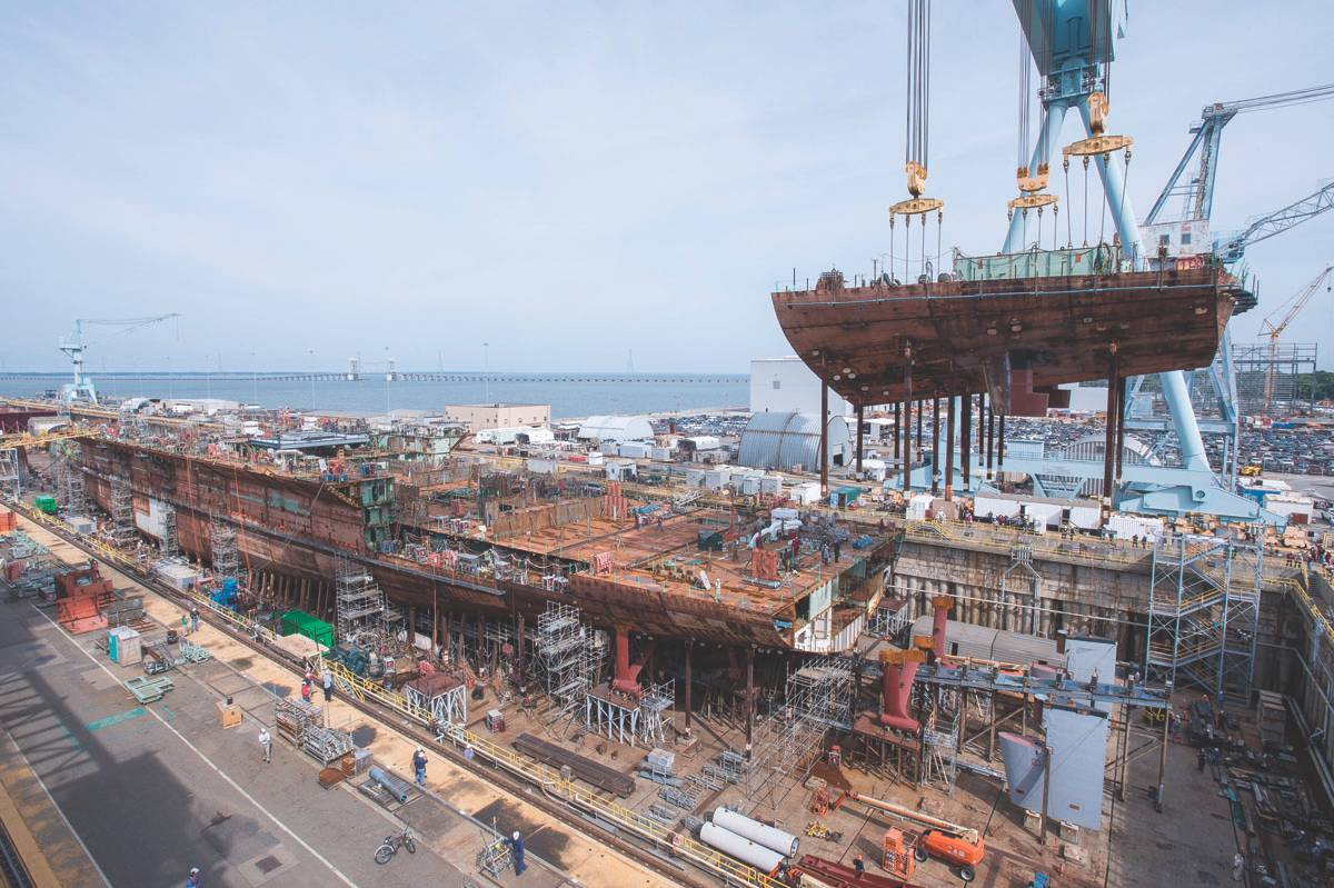 Inside The USS Gerald R  Ford