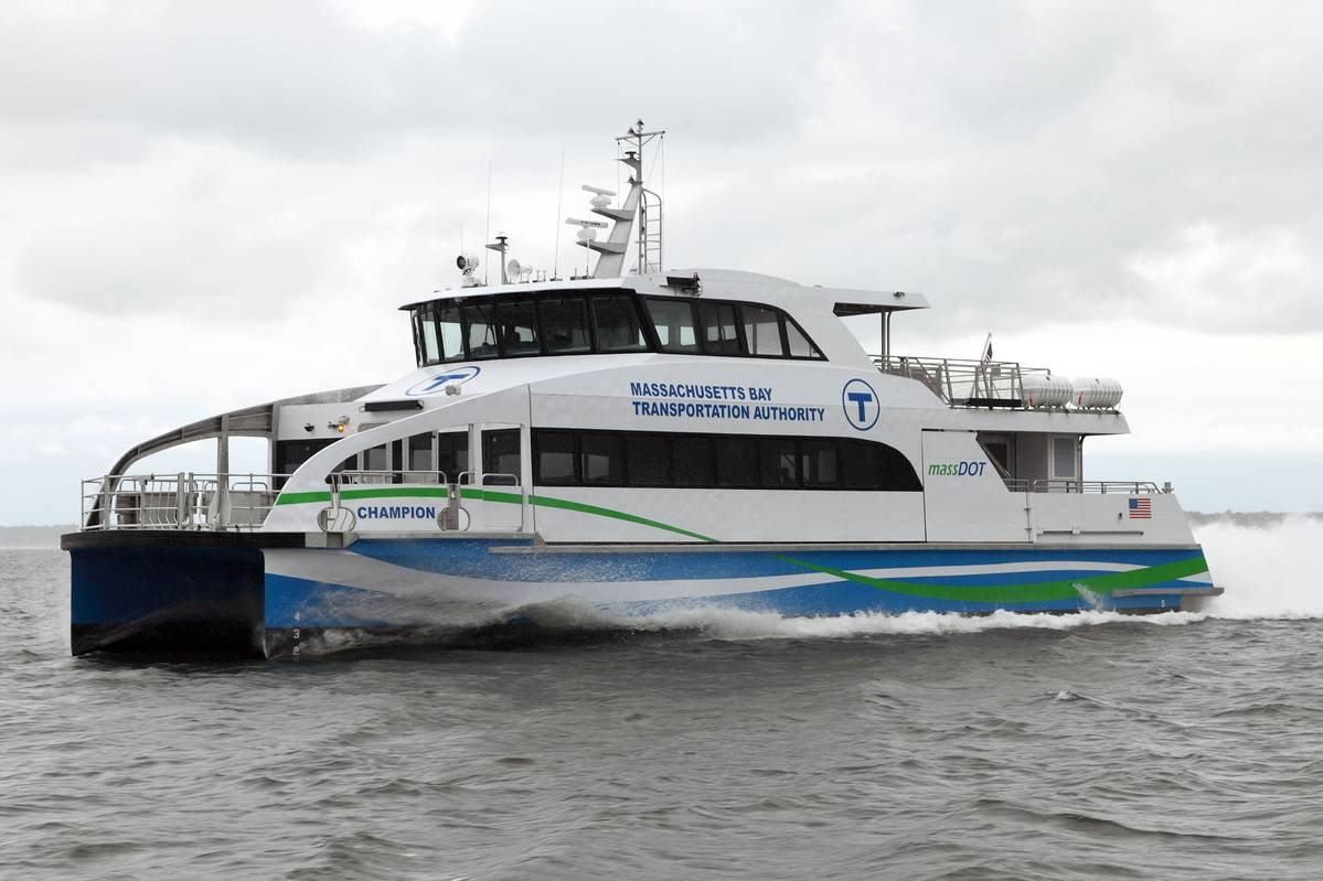 Massachusetts Takes Delivery Of New Fast Ferry