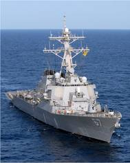 USS Cole (DDG 67) (U.S. Navy photo by Christopher L. Clark)