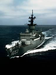 USS Roark (FF-1053). U.S. Navy photo by PHAN Burgess
