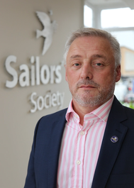 Sailors' Society's CEO Stuart Rivers (Photo: Sailors Society)