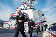 Man the Ship: Photo credit USN