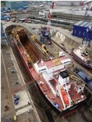Photo courtesy of A&P Shipyards