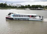 The Aqua Diamond in operation on the River Scheldt. (Photo: Damen)