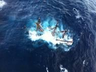 Bounty Sinking: Photo credit USCG